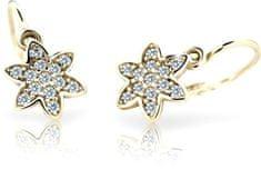 Cutie Jewellery Detské náušnice C2206-10-X-1 žlté zlato 585/1000