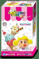 Jumping Clay Sada modelíny k výrobě zmrzliny