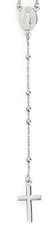 Amen Eredeti ezüst nyaklánc rózsafüzér CRO25B ezüst 925/1000
