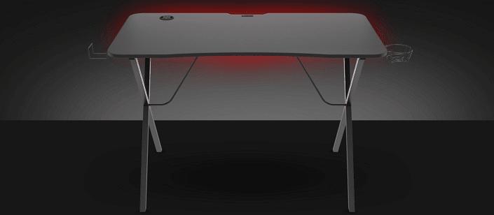 PC asztal Genesis Holm 200, RGB LED, fekete (NDS-1606), színes beállítható LED RGB háttérvilágítás