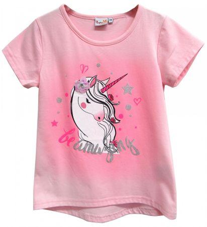 Topo dekliška majica, 92, svetlo roza