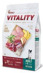 Akinu VITALITY karma dla psa, dorosłego, średniej rasy, jagnięcina i kurczak 3 kg