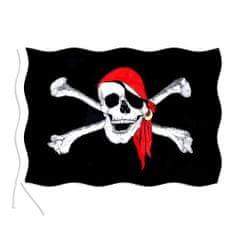 Vlajka Pirát - lebka - 150X90cm