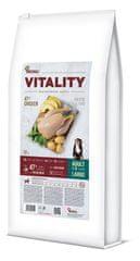 Akinu VITALITY karma dla dorosłego psa, dużych ras, kurczak 12 kg