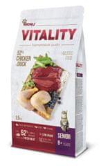 Akinu VITALITY karma dla kota,senior, kurczak i kaczka 1,5 kg