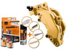 Foliatec dvousložková barva na brzdy zlatá (Prestige gold metallic)
