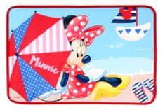 SETINO Detská rohožka predložka koberček Minnie Mouse - červená 40x60