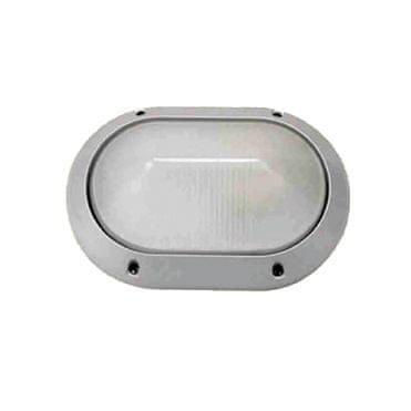 ACA Venkovní přisazené svítidlo HI5132 max. 40W/E27/IP45, šedé
