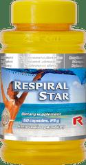 """Starlife RESPIRAL STAR, 60 tab. """"proti kašľu, nachladnutiu, na vykašliavanie"""""""
