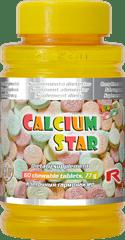 """Starlife CALCIUM STAR, 60 tab. """"pre zdravé kĺby, kosti, zuby"""""""