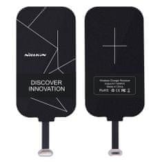 Nillkin Magic Tags Micro USB adaptér na bezdrátové nabíjení, černá