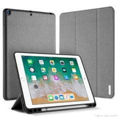 Dux Ducis Domo púzdro na tablet Apple iPad 9.7 2018 / 9.7 2017, stand, pen slot, sivé