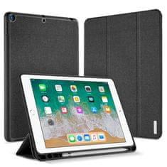 Dux Ducis Domo púzdro na tablet Apple iPad 9.7 2018 / 9.7 2017, stand, pen slot, čierne