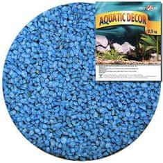 COBBYS PET AQUATIC DECOR Štrk modrý 3-4mm 2,5kg