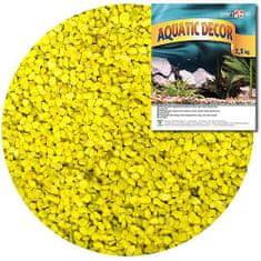 COBBYS PET AQUATIC DECOR Štrk žltý 3-4mm 2,5kg