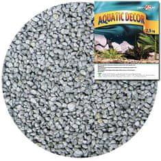 COBBYS PET AQUATIC DECOR Štrk strieborný 3-4mm 2,5kg
