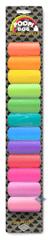 EBI D&D Sáčky na psie exkrementy dúhová farba 12 kotúčov s 15 sáčkami