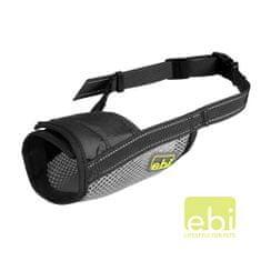 EBI D&D szájkosár BLACK/ XL 16-44cm / átmérő 19-24cm fekete