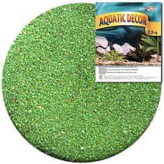 COBBYS PET AQUATIC DECOR Piesok zelený 0,5-1mm 2,5kg