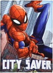 Sun City Fleecová / fleece deka Spiderman 90x120 coral fleece