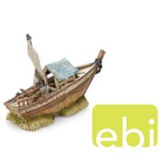 EBI AQUA DELLA BOAT -S- 30x11x19,5cm hajóroncs