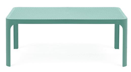 Nardi Garden Stůl NET 100 modrozelený