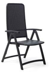 Nardi Garden Skládací židle DARSENA antracit