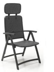 Nardi Garden Skládací židle ACQUAMARINA antracit