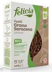 Těstoviny Felicia BIO celozrnné rýžové fusilli - box