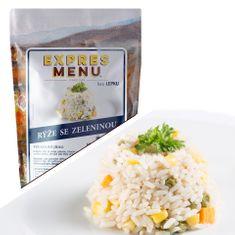 Expres Menu Dušená rýže se zeleninou 500g (2 porce)