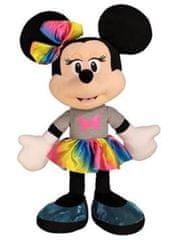 DINO Minnie dúhová sukňa 25 cm plyš