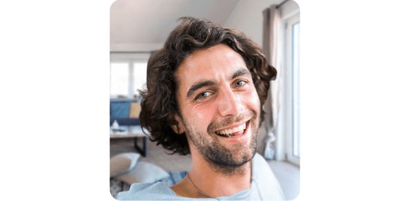 Samsung Galaxy A41, selfie kamera, bokeh efekt