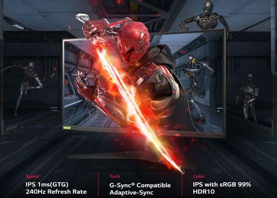 herní monitor LG 27GN750 (27GN750-B.AEU) hdr10