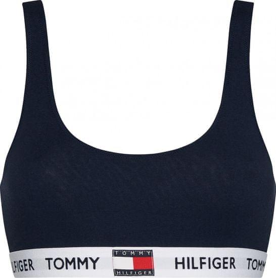 Tommy Hilfiger dámska podprsenka UW0UW02225 Bralette M tmavomodrá