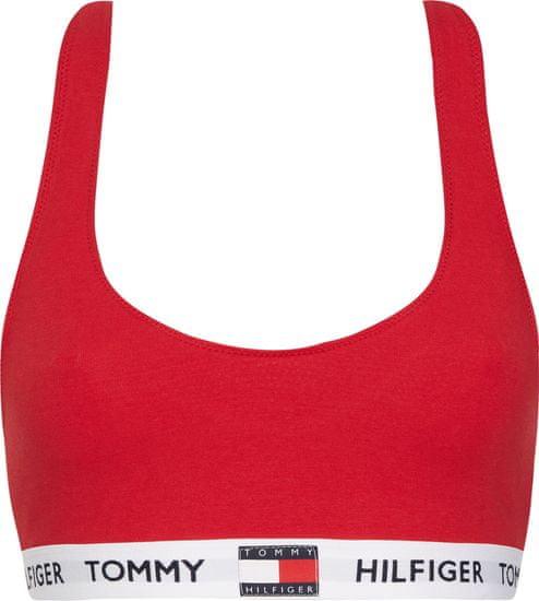 Tommy Hilfiger dámská podprsenka UW0UW02225 Bralette S červená