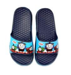SETINO Chlapecké gumové pantofle Mašinka Tomáš - tmavě modrá