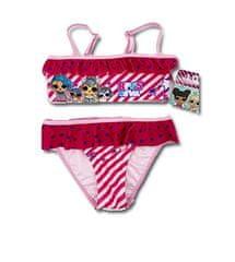 SETINO Dívčí dvoudílné plavky bikiny LOL Surprise - růžová