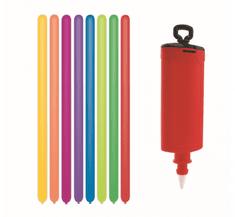 GoDan Prémiové modelárske balóniky - 10 ks s pumpou