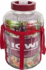 Browin Nakládací nádoba na zelí a okurky 18l sklo