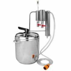 Browin Destilační přístroj + tlakový hrnec 2v1 12l + 2x dekantér