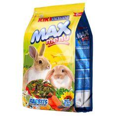 Kiki MAX Menü Rabbit 2kg teljes értékű nyúltáp