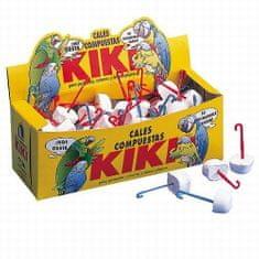 Kiki CALCIUM BLOCK minerálna kocka s plastovým držiakom na zavesenie