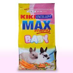 Kiki MAX Menu Rabbit BABY 1kg krmivo pro mladé králíky