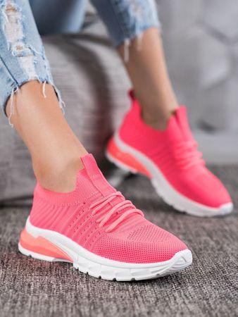 Nőitornacipő 64515 + Nőin zokni Gatta Calzino Strech, rózsaszín árnyalat, 38