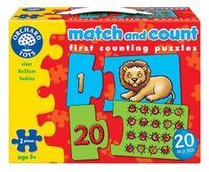 Orchard Toys Počítej a přiřaď obrázek - Puzzle