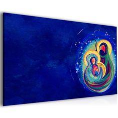 InSmile Abstraktní obraz mateřská láska Velikost (šířka x výška): 45x30 cm