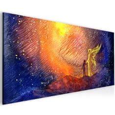 InSmile Abstraktní obraz andělská pomoc Velikost (šířka x výška): 40x20 cm