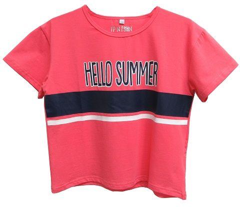Topo Dievčenské tričko 140 ružová