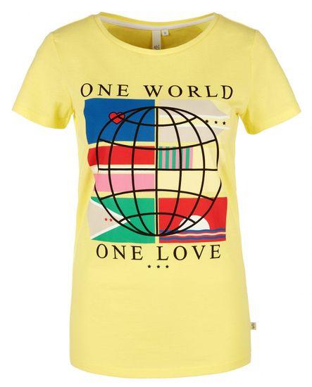 Q/S designed by dámske tričko 41.003.32.5741, XXL žltá