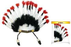 Čelenka - indiánská - Apač - bojovník